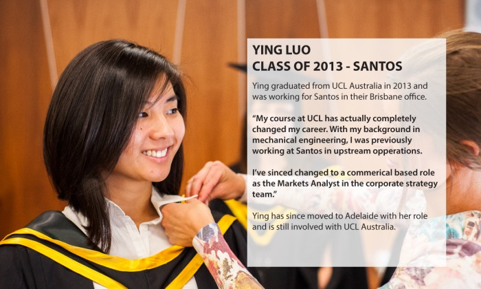 Ying Luo - Class of 2013 - Santos