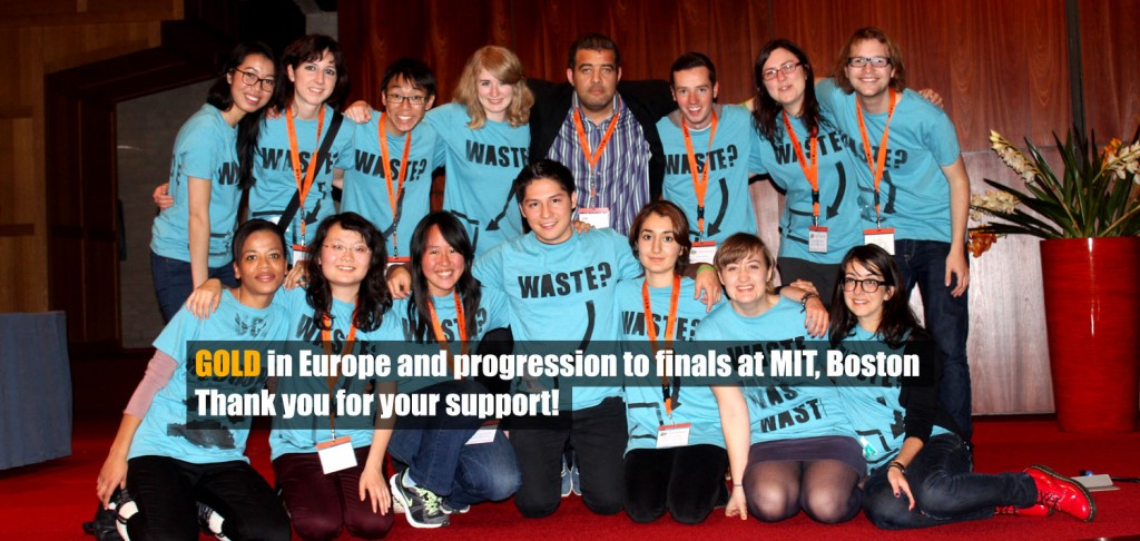 The UCL iGEM 2012 team photo