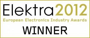 Elektra 2012 European Electronics Industry Award Winner