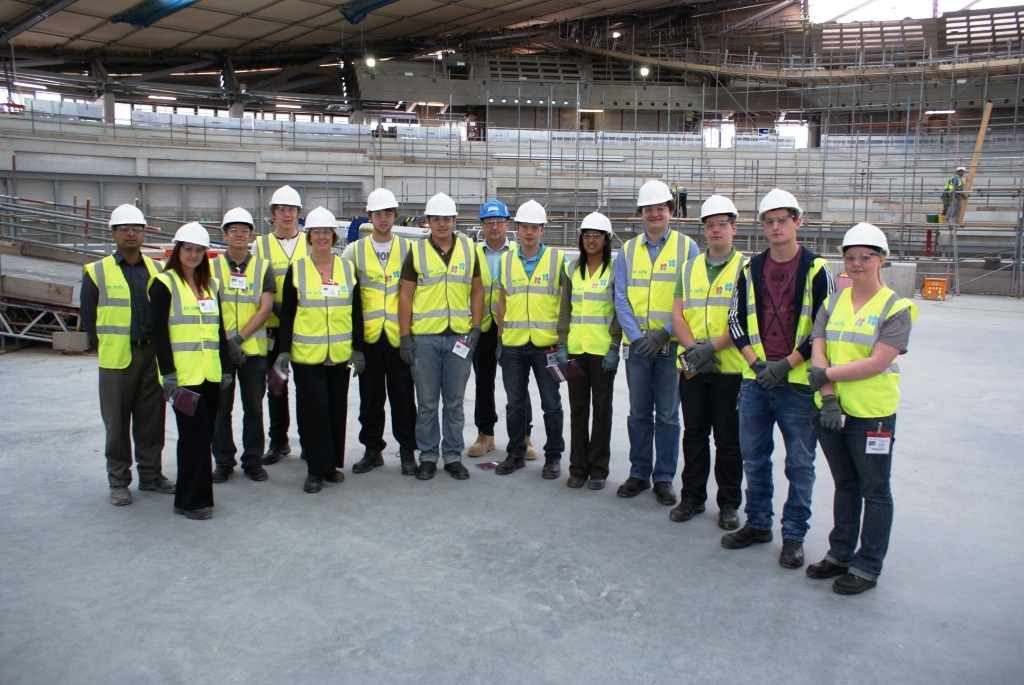 Arkwright students visit the Velodrome as part of an Engineering Experience Visit