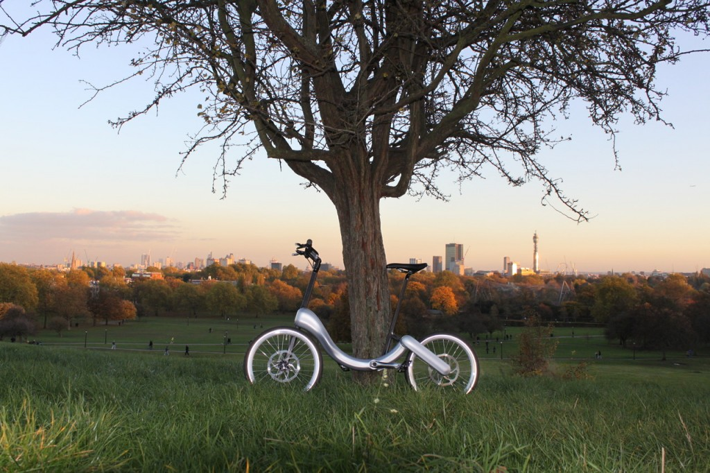 The 'Jive' folding electric bike design by Marcin Piatkowski, UCL Alumnus of the Technology Entrepreneurship programme