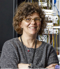 Professor Dimitra Simeonidou, Technical Director of the National Dark Infrastructure Service at the University of Bristol.
