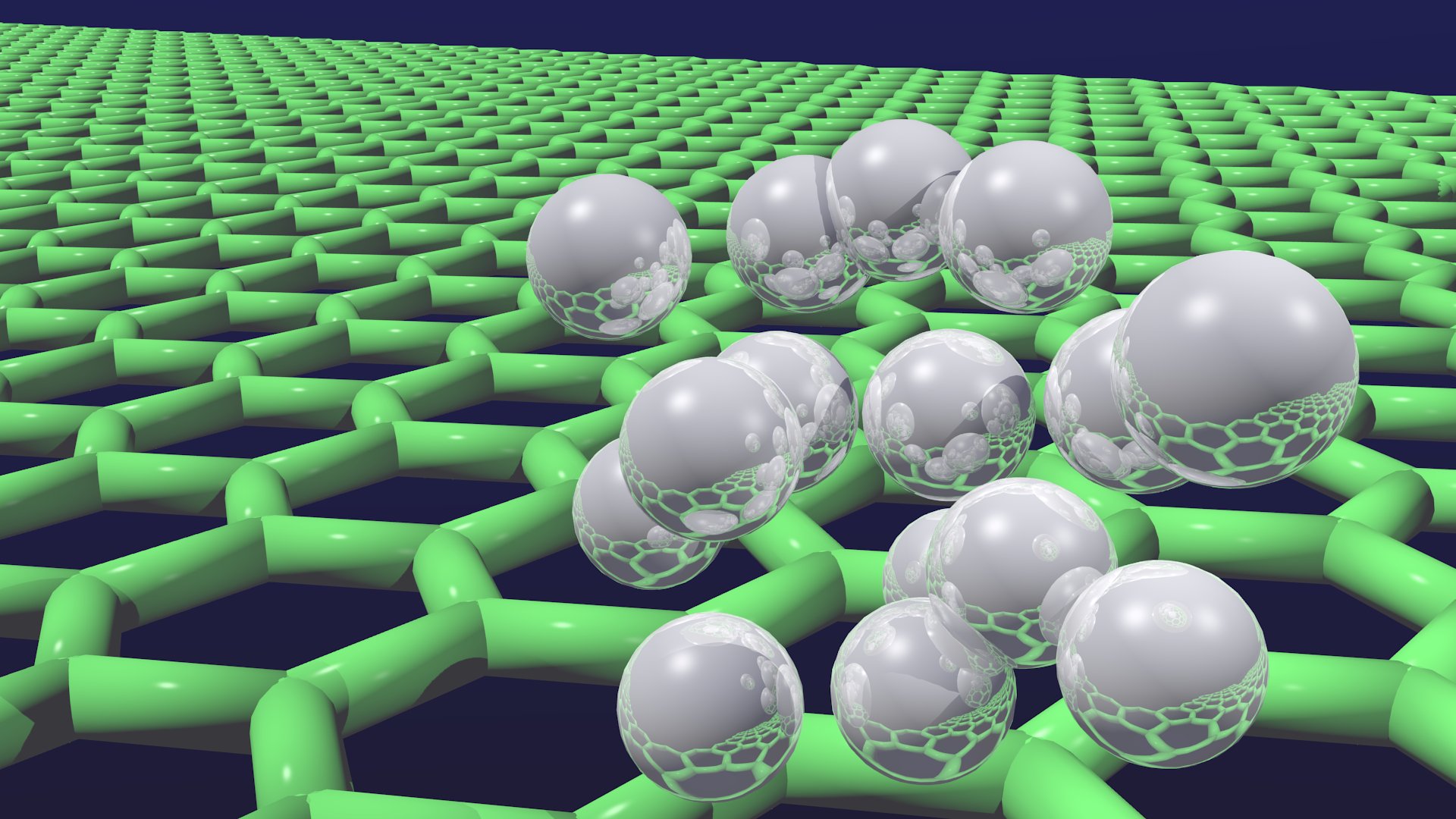 Quantum Hydrogen on Graphene