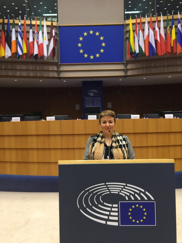Elpida at the European Parliament