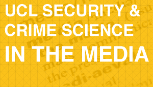 Securit and Crime Science in the media button