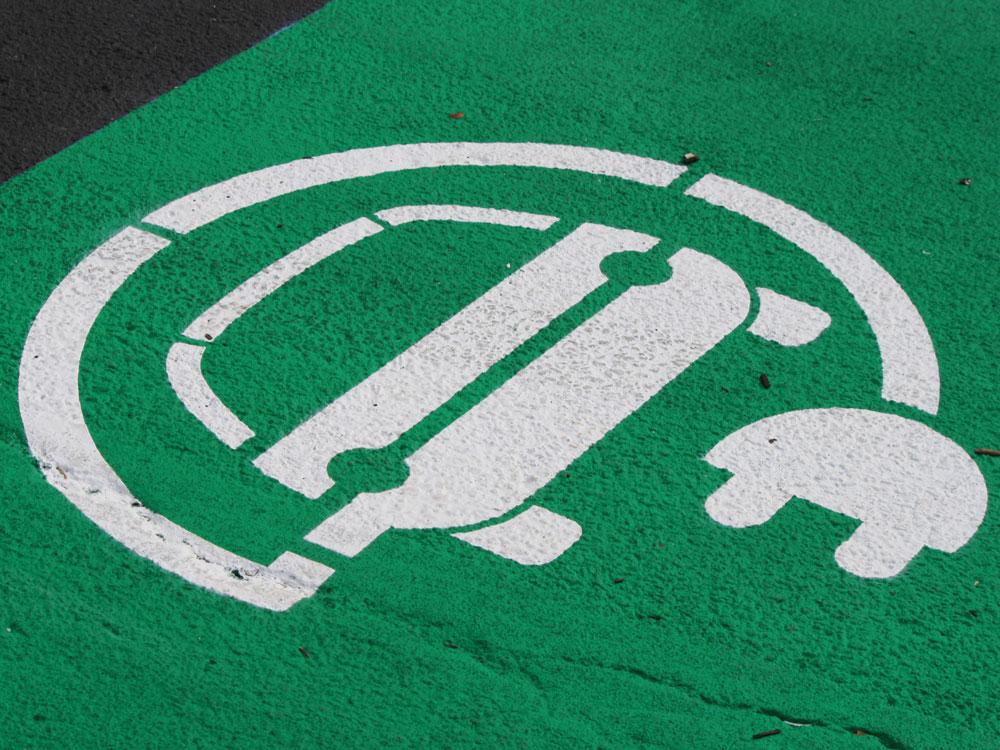 Parking Designated For Electric Vehicle (credit: Noya Fields, source: Flickr)